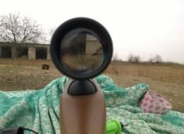 Как делается правильная пристрелка оптического прицела пневматической винтовки 5