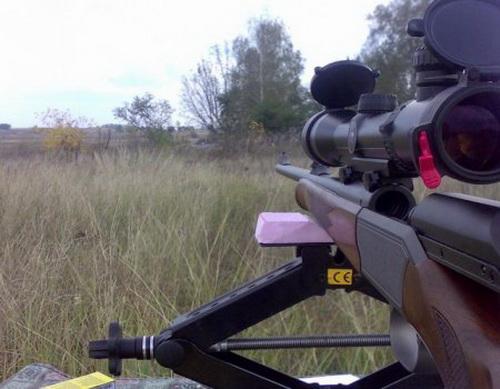 Как производится пристрелка оптического прицела на карабине 4