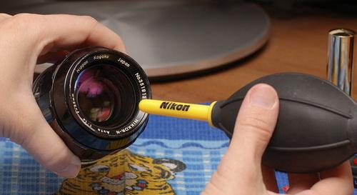 Как правильно чистить объектив фотоаппарата 3