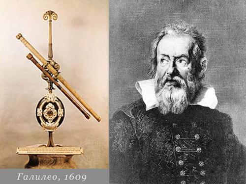 Когда был изобретен телескоп - история телескопа 3