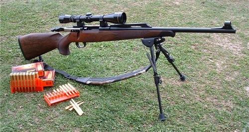 Как производится пристрелка оптического прицела на карабине 5